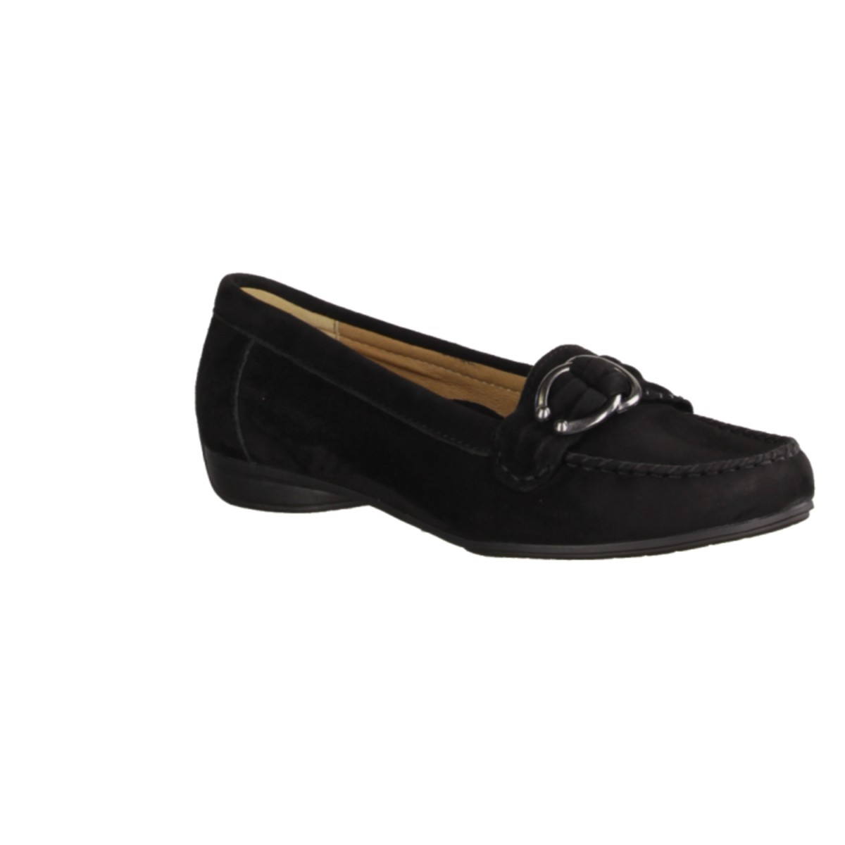 Gabor 74211 17 Womens chaussures pantoufles / Trotteur, noir hauteur
