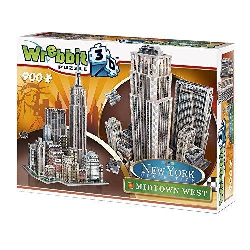 Wrebbit 3D Puzzle 900 PiÈCES Puzzle 3D New York : Midtown West