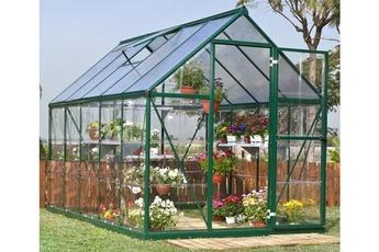 Serre de jardin Serre de jardin GAYA 106 armature Verte Chalet