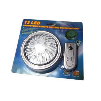 Lampe Portable 13 Led S'Allume Par Télécommande ou Par Pression