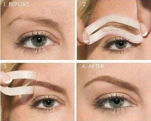 maquillage et outils yeux peignes et brosses cils et sourcils