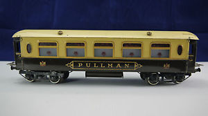 HORNBY MECCANO GRAND WAGON PULLMAN TÔLE LYTHOGRAPHIE 33