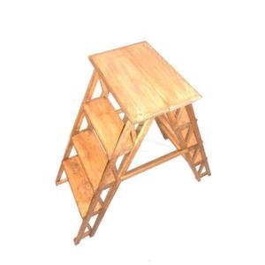 bois 4 marches porte plante étagère repliable 8 marches 87x41x96 cm