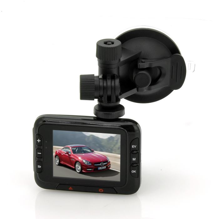 Dashcam HD DVR écran 2.7, 1080P, Zoom 16x, Détection de mouvements