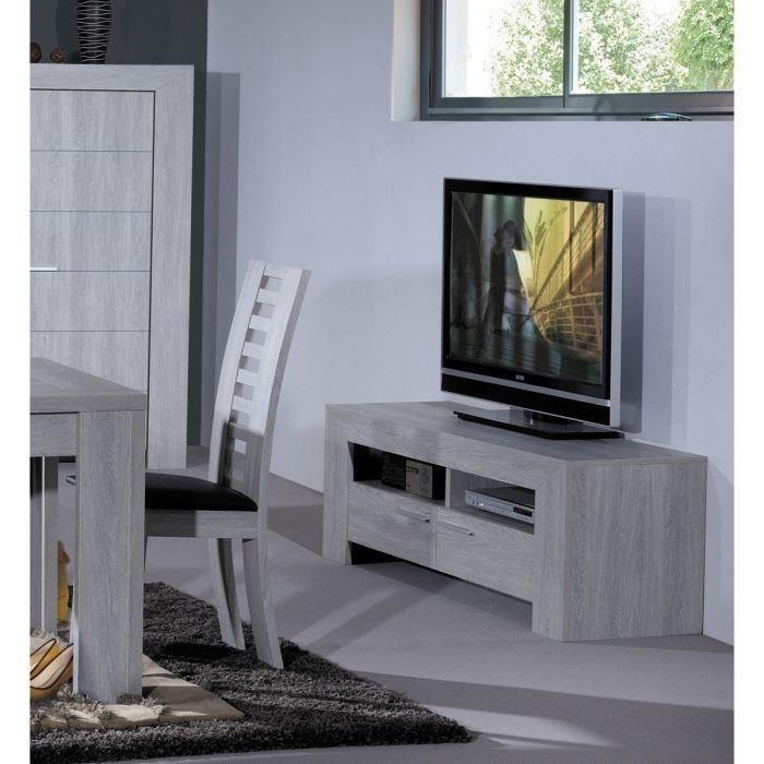 Meuble TV 150 cm gris Achat / Vente meuble tv LATHI Meuble TV 150 cm