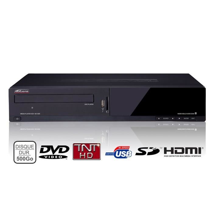 TAKARA KDV190HDR Lecteur Enregistreur DVD 500Go lecteur dvd portable