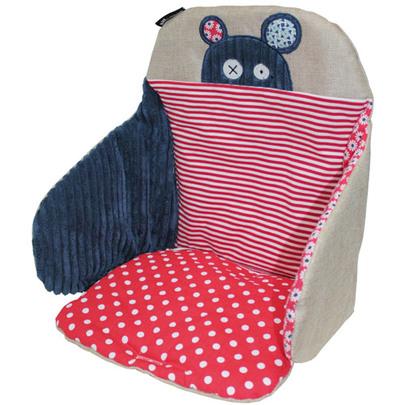 Coussin de chaise Les Déglingos de Babycalin, Coussins de chaise