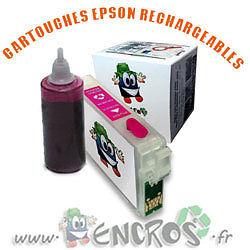RECHARGEABLE Kit Cartouche Rechargeable EPSON T1633 Garantie ENCROS