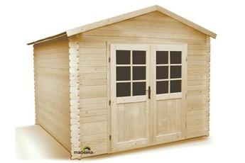 de jardin MADEIRA Abri de jardin bois 7,5 m2 28 mm IBIS Madeira