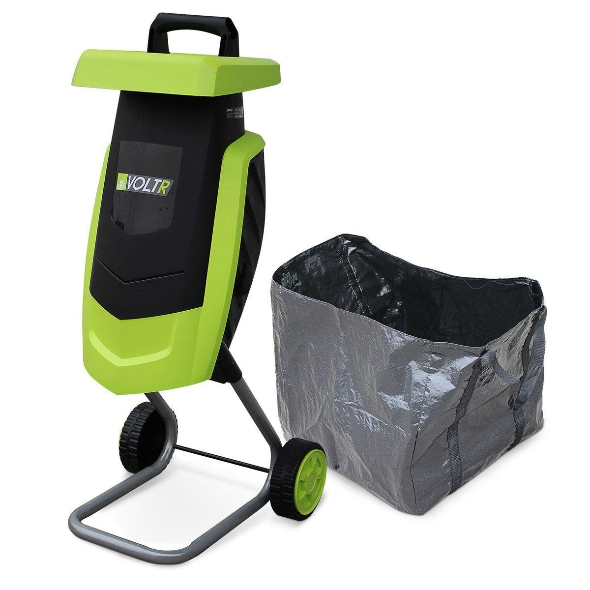image Broyeur à végétaux électrique VOLTR, 2200W avec sac de