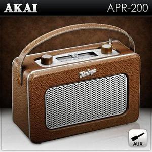Audio Hifi tuner radio FM récepteur rétro vintage nostalgie valise
