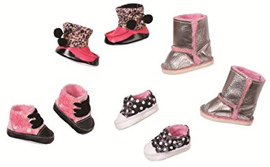 Zapf Creation Baby Born 816806 Chaussures d'Hiver ® « STAR », 4