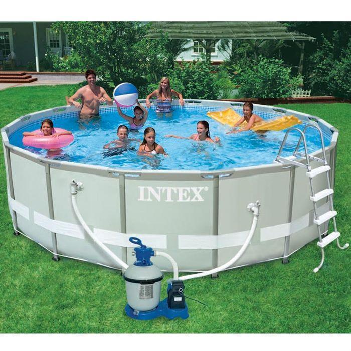 Kit piscine tubulaire 4,88×1,22m ULTRAFRAME Achat / Vente piscine