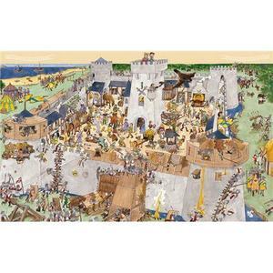 DJECO Puzzle Château fort 100 pièces Ce puzzle fourmille de