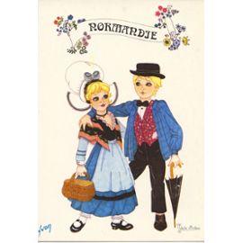 Avis sur » Folklore De France, Normandie, Costume Traditionnel (Dessin
