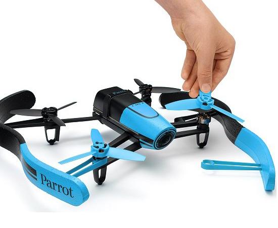 parrot bebop drone bleu détails produit marque parrot modèle bebop