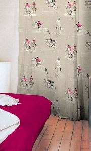 galop Rideau à oeillets coton Made in France 1438601 le rideau
