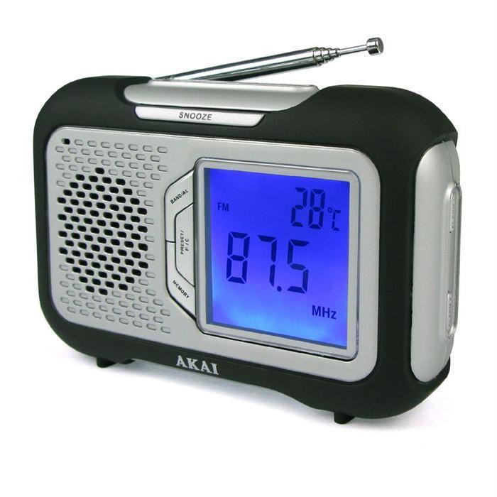 AKAI AR 21K Radio FM portable radio cd cassette, avis et prix pas