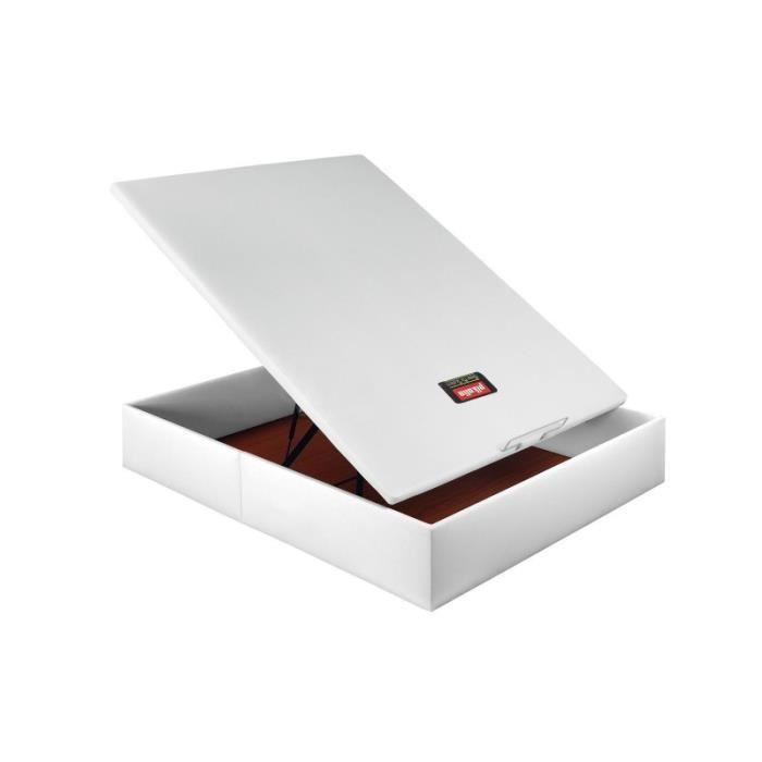 160 x 190 cm Achat / Vente lit complet Lit coffre tapissé Pikolin