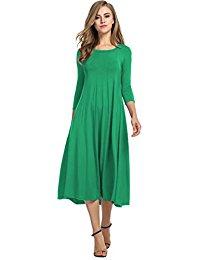 Vert Robes / Femme : Vêtements