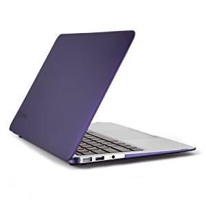 Speck SeeThru Satin Coque pour MacBook Air 11″ Couleur aubergine