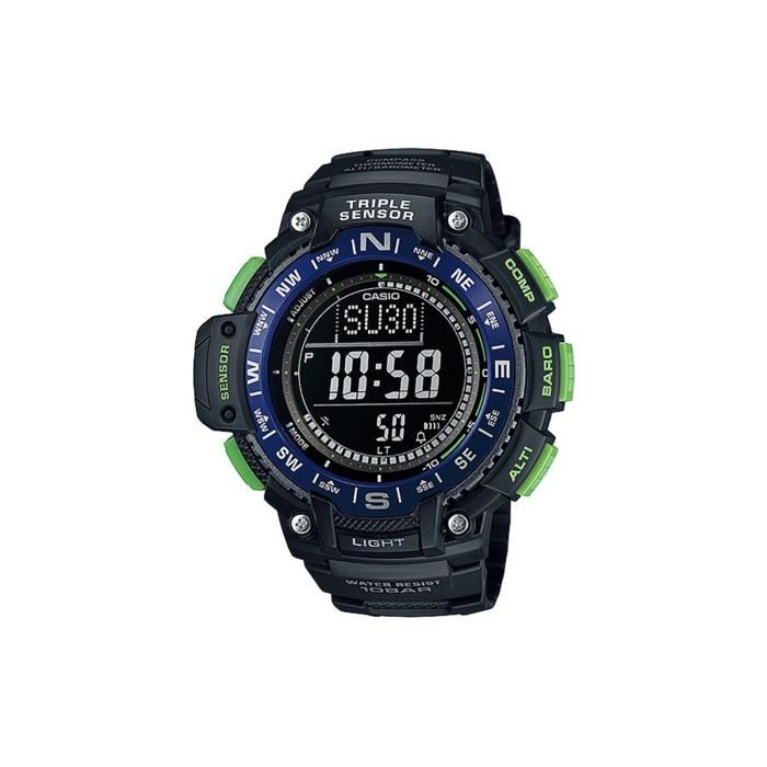 Casio SGW 1000 2BER Standard Montre Homme Quartz Digital