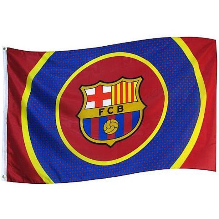 DRAPEAU OFFICIEL FC BARCELONE BULLSEYEDrapeaux de l'équipeGrande