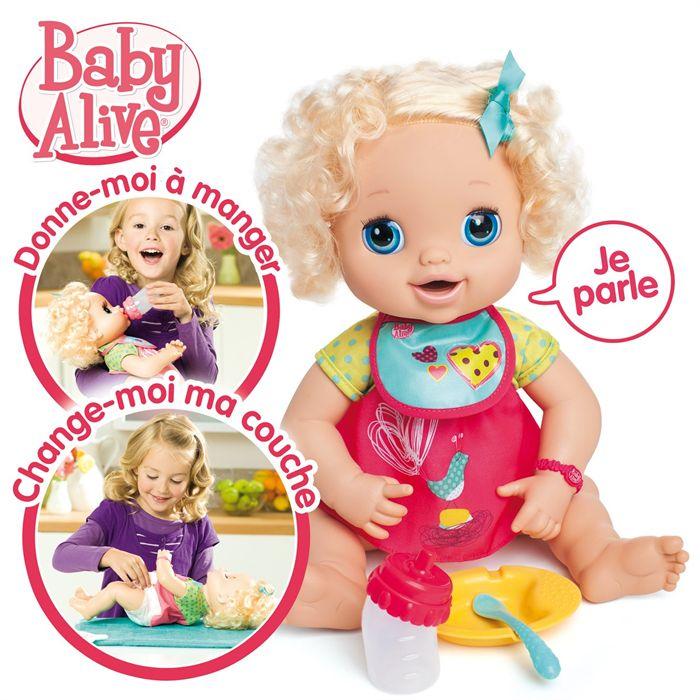 Baby Alive Poupée à Materner A fonction Achat / Vente poupée