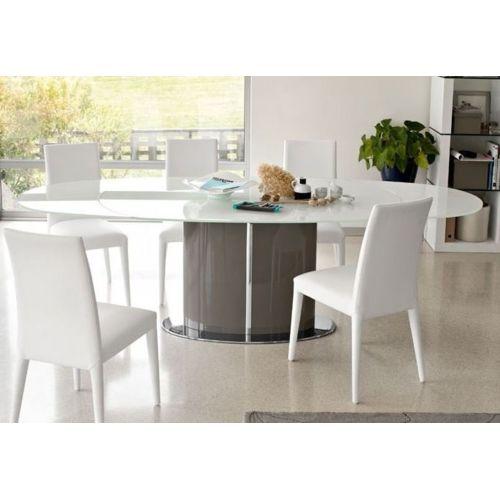 Inside75 Calligaris Table repas ovale extensible Odyssey 165×105 en