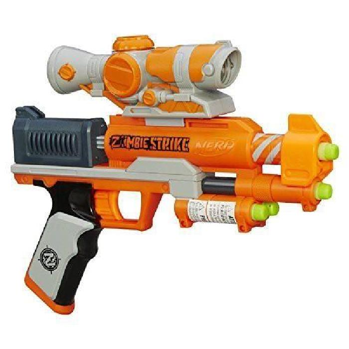 Hasbro Nerf Zombie Strike Zed Squad Clear Shot Achat / Vente
