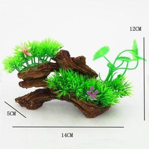 plantes aquatiques / tortue cylindre ensemble végétales / Aquarium