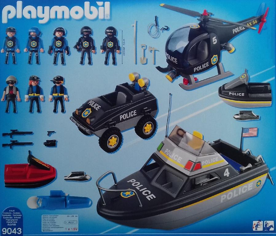 Playmobil City Action 9043 Le SWAT Véhicules des Forces Spéciales de