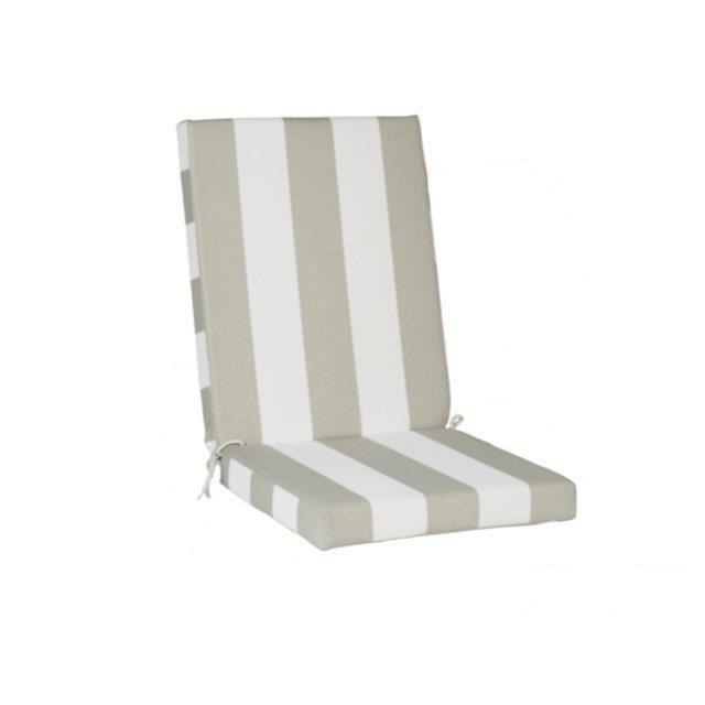fauteuil Cabourg Celadon Achat / Vente coussin d'extérieur Coussin