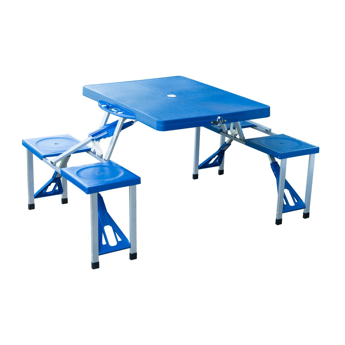Table de camping pliante valise cheap bien table ronde pliante valise table de camping pliante - Table camping valise ...