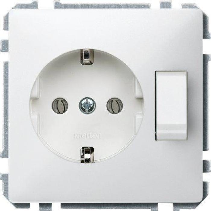 Prise Schuko avec interrupteur Blanc vif Achat / Vente prise