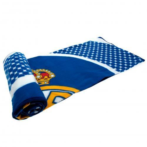 Plaid couverture polaire foot Officiel FC Barcelone ou Real de Madrid