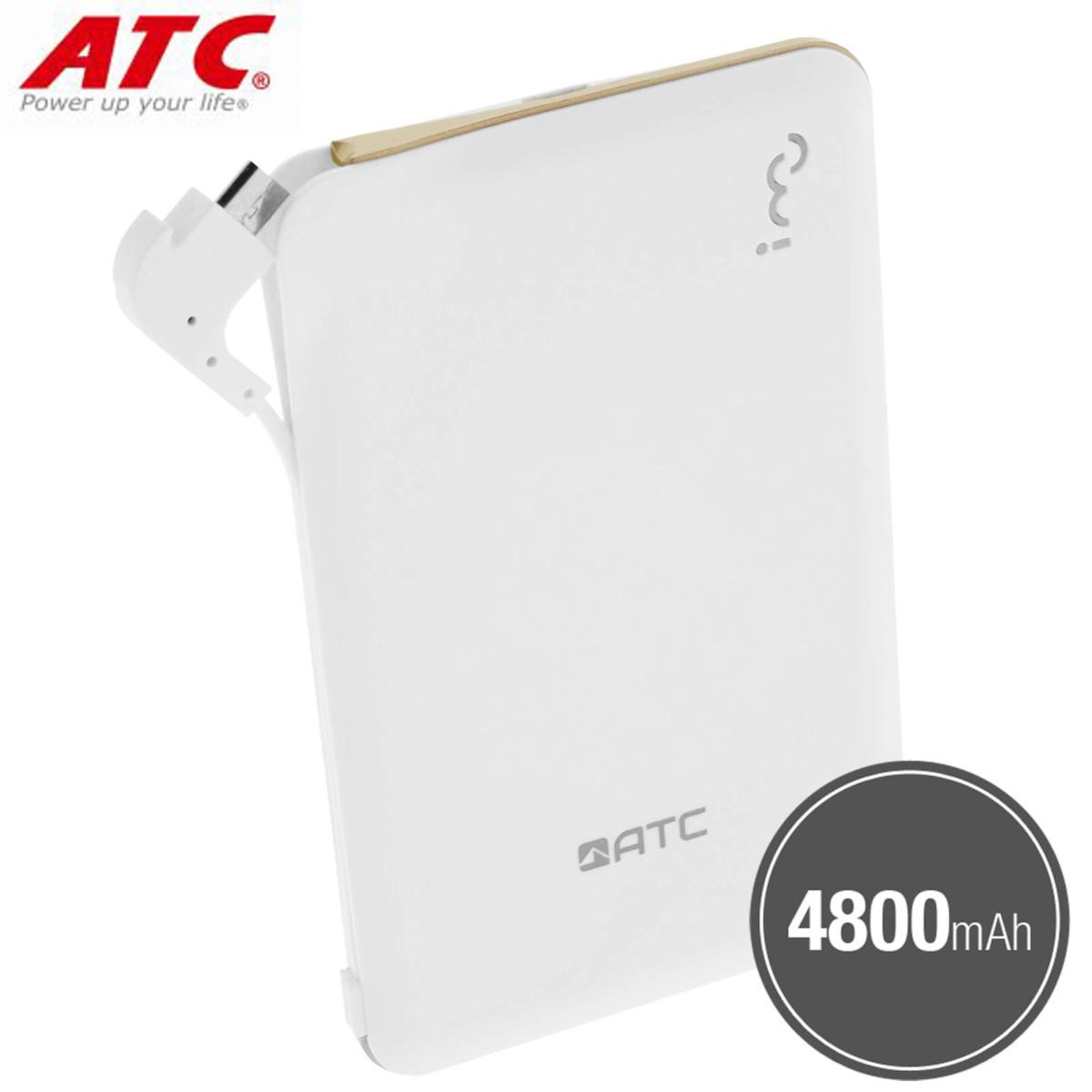 Batterie Externe de Secours 4800mAh pour smartphone / tablette