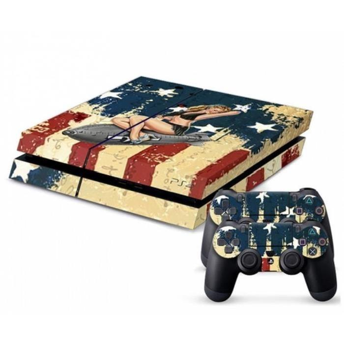 Achat / Vente sticker skin console Stickers SKIN PLAYSTATION 4