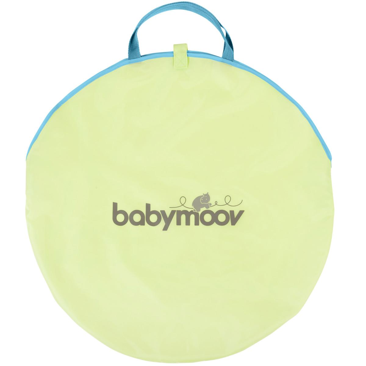 Tente anti UV moustiquaire Bleu / Vert de Babymoov, Jouets de plage