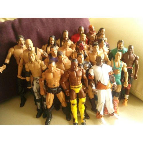 Lot De 23 Figurines Catch Wwe neuf et d'occasion