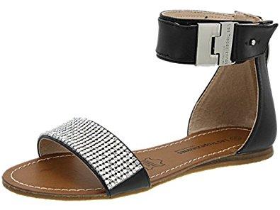 Sandale Les Tropeziennes Githa noire, chaussure chic femme