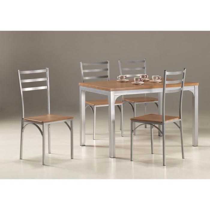 table de cuisine et 4 chaises INDRE Achat / Vente table de cuisine