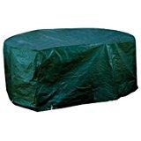 Housse protection table de jardin ovale 735940: Jardin