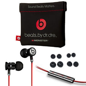 Neuve Veritable Monster Beats by DR Dre Intra Auriculaire Noir Casque
