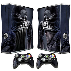 Call of duty ghosts cod console Xbox 360 peau + 2 contrôleur stickers