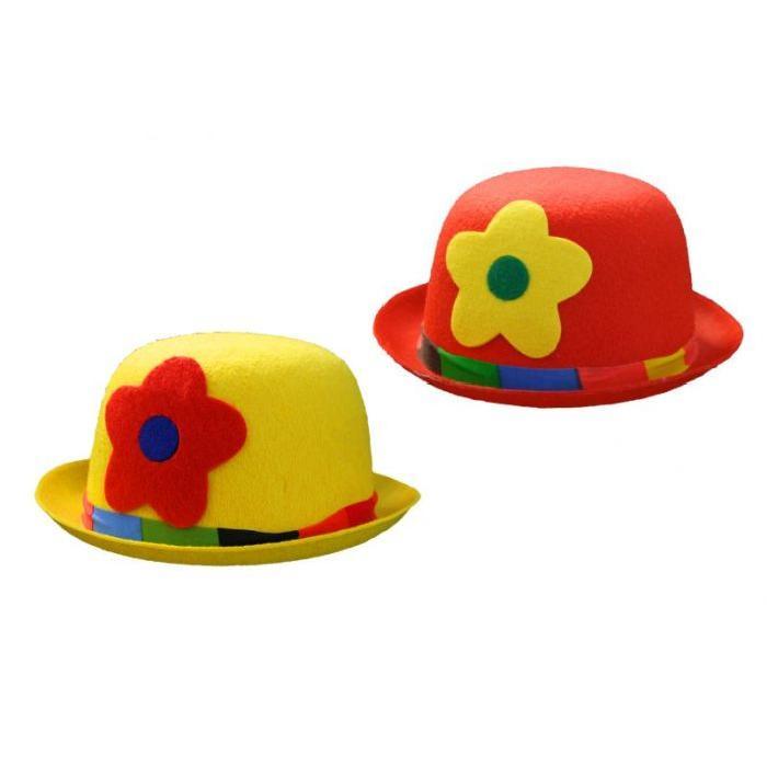 De Clown Modèle jaune Achat / Vente chapeau perruque Chapeau De