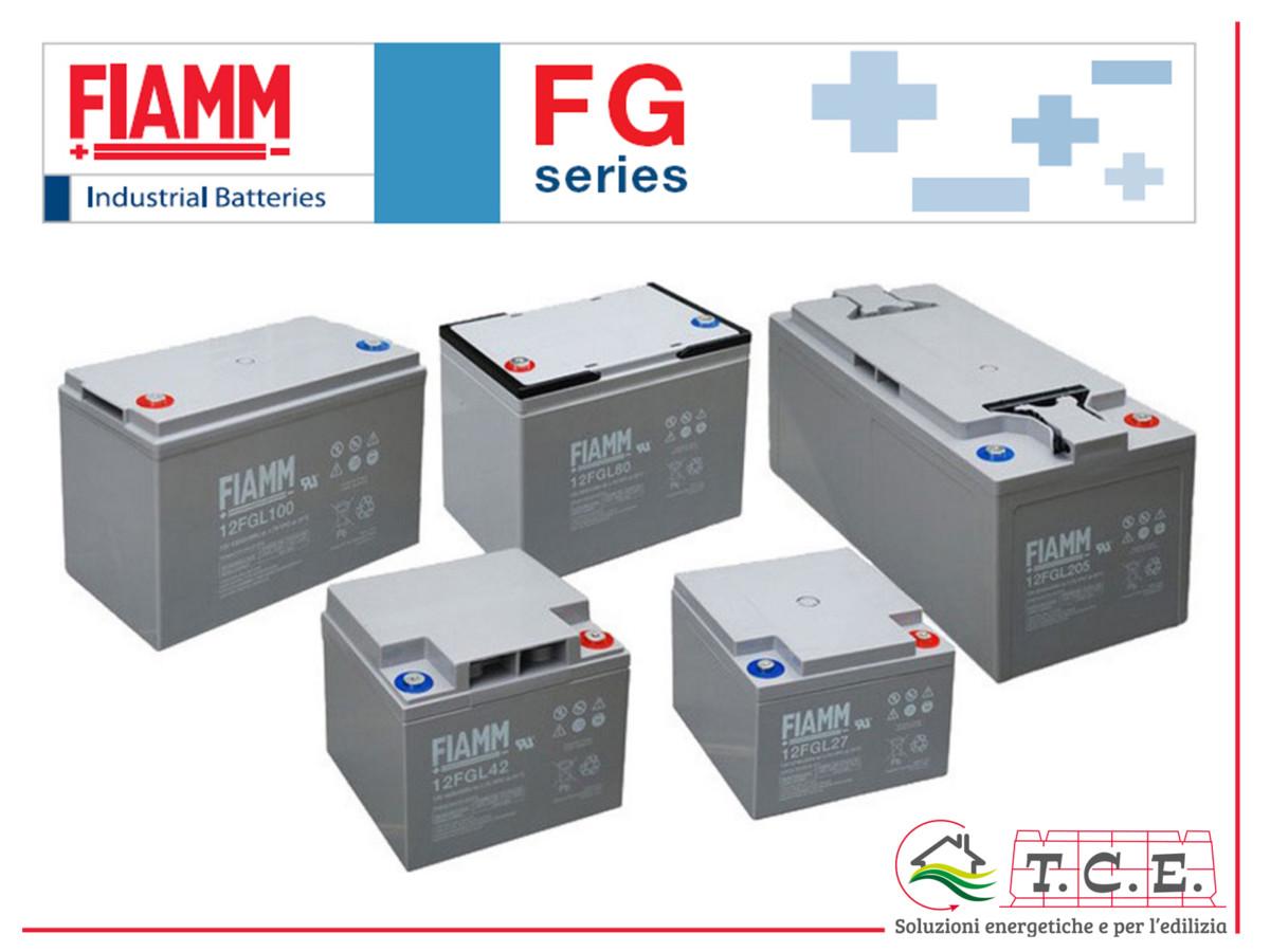 Batteria AGM FIAMM 12 FGL 120 120Ah