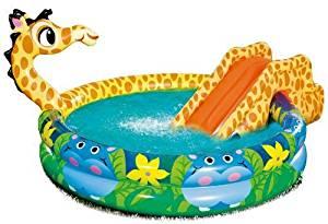 Banzai Pataugeoire Bassin pour Enfants Piscine enfant avec