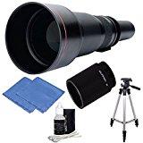 650 2600 mm haute définition Objectif Zoom 59 cm avec trépied pour