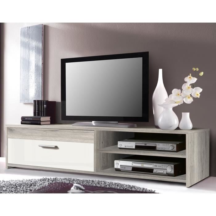 meuble tv 120 cm topiwall. Black Bedroom Furniture Sets. Home Design Ideas